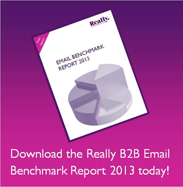 B2B Email benchmark report