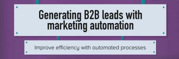 Snippet of B2B Marketing Automation Infographic