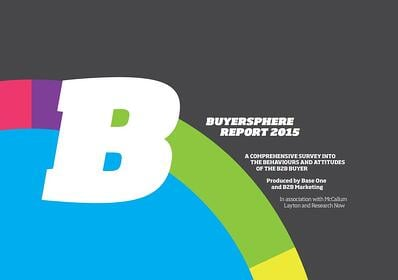 B2B Buyersphere Report Cover