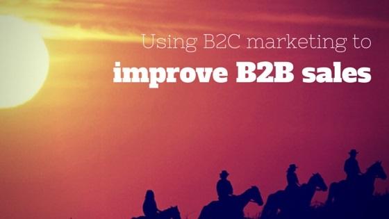 B2B Sales Improving B2C