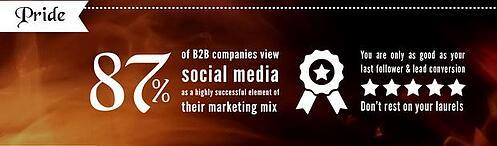 Pride - social media marketing moral