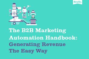B2B marketing automation handbook cover