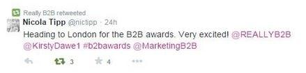 B2B Awards 2014