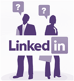 How do I distribute B2B content effectively using LinkedIn?