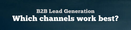 B2B Lead Generation Channels
