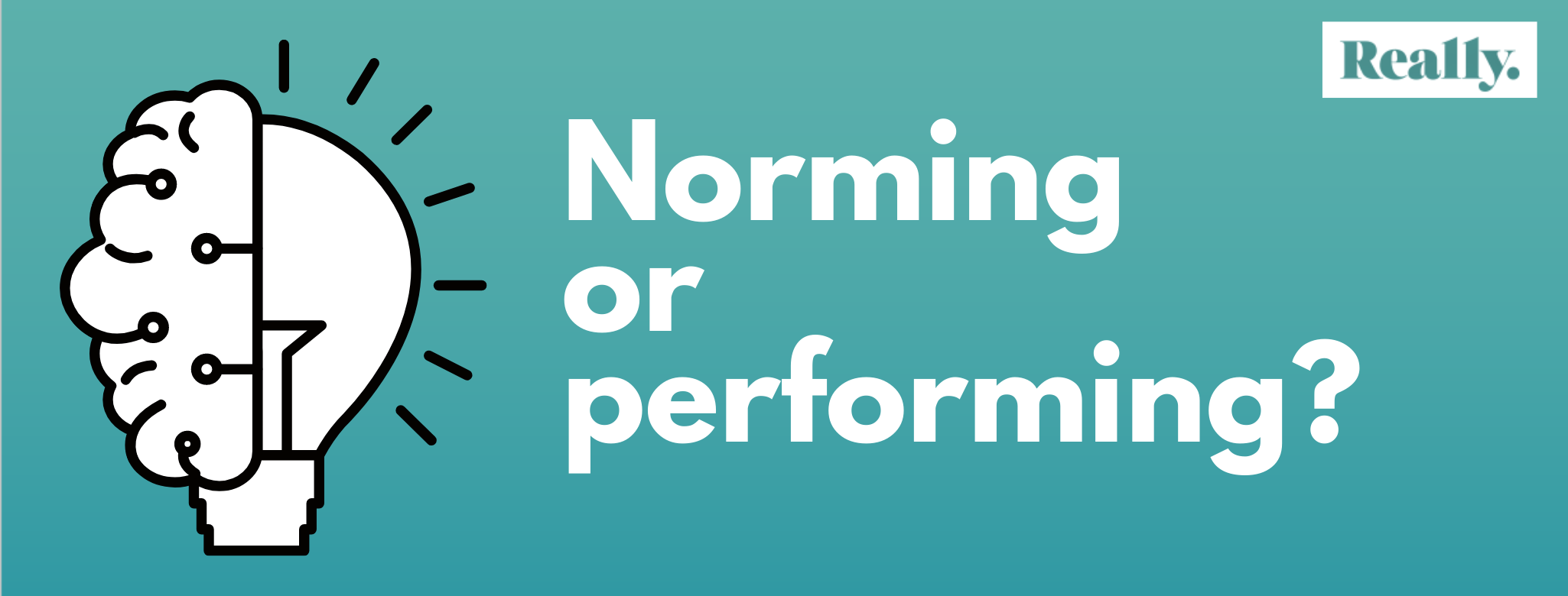 Is your head at norming or performing stage?