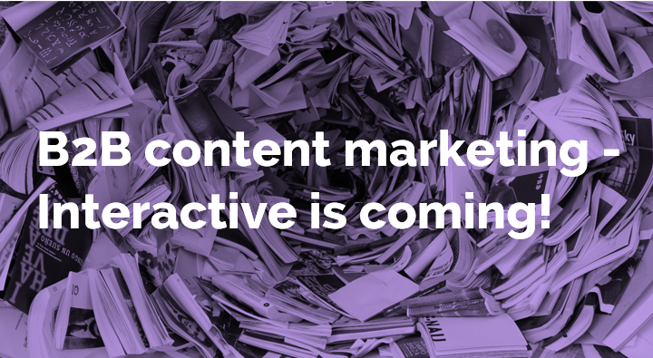Interactive is coming - blog banner